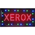 Placa Led Quadro Letreiro Luminoso Decorativo Xerox