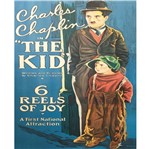 Placa Madeira MDF 20x25 Charles Chaplin LPMC-016 - Litocart
