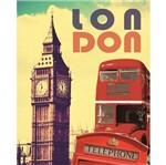Placa Madeira MDF 20x25 Londres LPMC-002 - Litocart