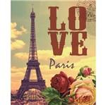 Placa Madeira MDF 20x25 Love Paris LPMC-001 - Litocart