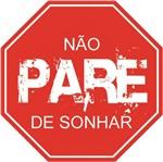 Placa Madeira MDF 20x25 não Pare de Sonhar LPMC-012 - Litocart