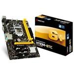 Placa Mãe Biostar H110M-BTC 6+ Experience Socket LGA 1151 - Até 2 DDR4