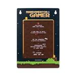Placa Mandamentos do Gamer