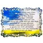 Placa Mdf Oração Pai Nosso
