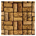 Placa Mdf Quadrada 25x25 Rolhas de Vinho Encaixadas Lpqp-006 - Litocart