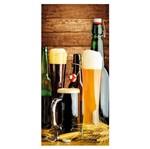 Placa MDF Retangular 28x60 Copo e Garrafa de Cerveja LPQG-004 - Litocart