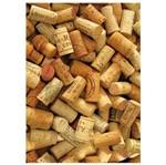 Placa MDF Retangular 22x32 Rolhas de Vinho Bagunçadas LPQM-011 - Litocart