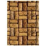 Placa Mdf Retangular 22x32 Rolhas de Vinho Encaixadas Lpqm-010 - Litocart