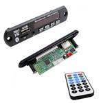Placa Mp3 USB com Bluetooth