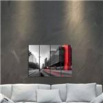 Placa Painel Decorativa em MDF Foto Masp Kit 4 Placas