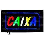 Placa Painel Luminosa Led Caixa 49 Cmx 24 Cm - Mpl-6624