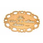 Placa para Casamento em Mdf Ultima Chance