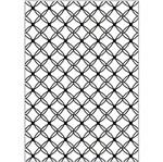 Placa para Relevo 2D Elegance A4 Toke e Crie PPR029 29,7x21 Trama de Folhas