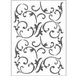 Placa para Relevo 2D Elegance Toke e Crie PPR021 12,7x17,7 Videira