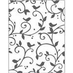 Placa para Relevo 2D Elegance Toke e Crie PPR016 10,7x13,9 Pássaros