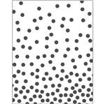 Placa para Relevo 2D Elegance Toke e Crie PPR026 12,7x7,5 Confete