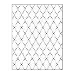 Placa para Relevo 2D em Papel Losango Toke e Crie
