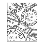 Placa para Relevo 2D em Papel Selos Toke e Crie