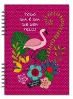 Planner Compacto Mensal Flamingo 00006309