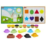 Play Doh-Kit Aprender Cores e Formas Hasbro B3404