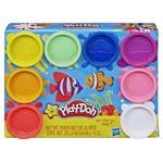 Play Doh Kit com 8 Cores do Arco-íris Atóxicas - Hasbro