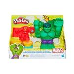 Play Doh Marvel Batalha Hulkbuster e Hulk - Hasbro