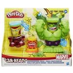 Play Doh Marvel Pote Hulk Esmaga B0308