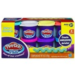 Play-doh - Massinhas Plus com 8 Cores - Hasbro