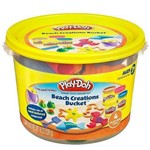 Play DOH Mini Balde Praia Hasbro 23414 3914