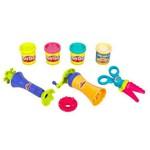 Play-Doh Super Ferramentas Tesoura/Confete e Molde - Hasbro