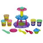 Play Doh Torre de Cupcake Formas Massinha Bolinhos A5144 Original Hasbro