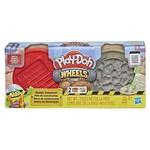 Play Doh Wheels Materiais de Construção Conjunto Tijolo e Pedra - Hasbro