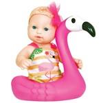 Play Time Banho do Bebê Flamingo - Cotiplás