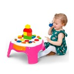 Play Time Mesa Atividades Rosa - Cotiplas