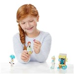 Playset Disney Frozen - Little Kingdom - Patinação no Gelo - Hasbro