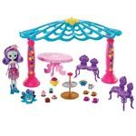 Playset e Boneca Articulada - Enchantimals - Patter Peacock e Quiosque - Mattel