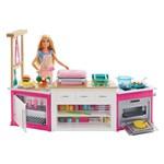 Playset e Boneca - Barbie - Cozinha de Luxo da Barbie - Mattel