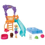 Playset e Mini Boneca - Festa dos Bichinhos no Jardim - Mattel
