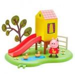 Playset e Mini Figuras - Peppa Pig - Peppa Hora de Brincar - Escorregador - Dtc
