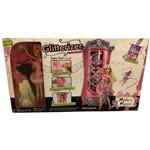 Playset Grande Guarda Roupa Motorizado Glitterizer e Acessórios - Barbie Moda e Magia - Acompanha Boneca - Mattel / Ano de Fabricação: 2009