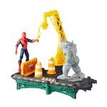 Playset Marvel Spider Man Rhino Ataca - Hasbro
