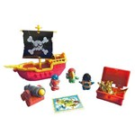 Playset Navio Pirata Zombie Fun Zomlings
