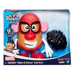 Playskool - Boneco Mr Potato Head Clássico - Marvel Homem Aranha - Hasbro
