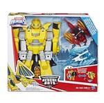 Playskool Heroes Transformers Rescue Bots - Bumblebee Cavaleiro Vigilante - Hasbro