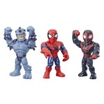 Playskool Super Hero Adventures Mega Mighties 3 Figuras - Hasbro