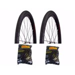 2 Pneus Pirelli Scorpion Pro 29x2.20 e 2 Câmaras Pirelli Aro 29 Válvula Americana