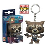 Pocket Pop Keychain Chaveiro Funko Rocket Guardians Galaxy