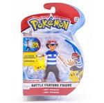 Pokémon Battle Feature Figure 11cm - Ash e Pikachu - DTC
