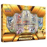 Pokemon Box Coleção Lendária Pikachu Ex - em Português
