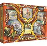 Pokemon Box com Miniatura Tapu Koko